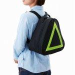 ノベルティ・粗品で人気の「両リュック・ピラミッド型バッグ」