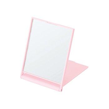 ノベルティ・粗品で人気の「マットスクエアミラー(S)/ピンク」