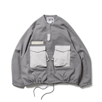 TIGHTBOOTH COLLARLESS FIELD JKT / 3colors