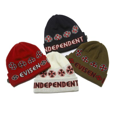 INDEPENDENT x EVISEN / BEANIE / 4colors