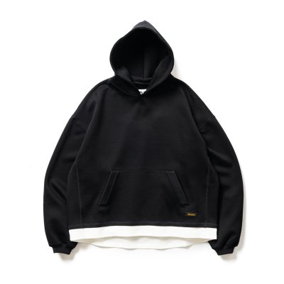 Tightbooth / SMOOTH LAYERED HOODIE / 2colors