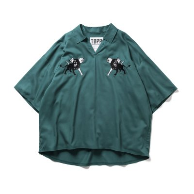 Tightbooth /  KERBEROS OPEN SHIRT  / 3colors