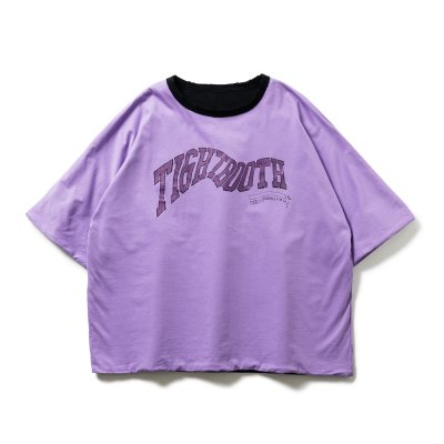 TIGHTBOOTH / ACID REVERSIBLE T-SHIRT / 3colors
