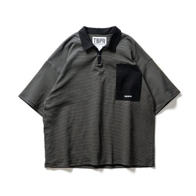 TIGHTBOOTH / STRIPE POLO SHIRT / 3colors