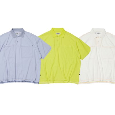 EVISEN / DRY WIDE POLO SHIRT / 3colors