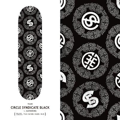 EVISEN / Circle Syndicate Black  / 7.8 , 8.125 , 8.25 , 8.5