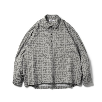 Tightbooth / MAD COW FOOTPRINT PULLOVER SHIRT / 4colors