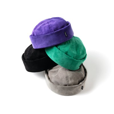 TIGHTBOOTH / SUEDE ROLL CAP / 4colors