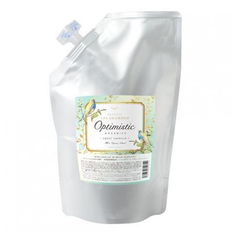 Sweet Emerald | Organic Spa Shampoo / オーガニック・スパシャンプー 1000mL詰替え <スウィート エメラルド>