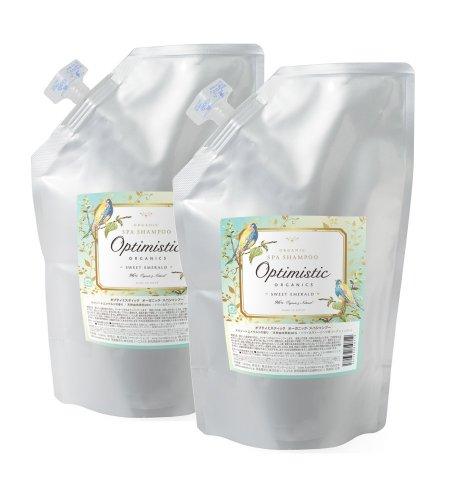 【まとめ買い】 | Organic Spa Shampoo / オーガニック・スパシャンプー 1000mL詰替え×2本