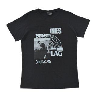 BASIC STUDIOS|ベーシックスタジオス通販|大阪正規取扱店舗|送料無料|最短翌日着|切り替え半袖Tシャツ-30|ブラック&ブラック