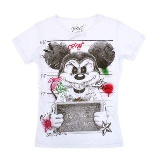 Tract|トラクト 通販|大阪正規取扱店舗|最短翌日着|Mickey 半袖Tシャツ|ホワイト