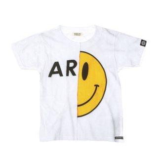 OVER THE STRiPES|オーバーザストライプス 通販|大阪正規取扱店|Altopino限定商品 9周年別注切り替えプリントARMYTシャツ|ホワイト
