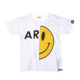 OVER THE STRiPES|オーバーザストライプス 通販|大阪正規取扱店|Altopino限定商品 9周年別注切り替えプリント ARMYTシャツ KIDSサイズ|ホワイト