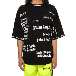 <img class='new_mark_img1' src='https://img.shop-pro.jp/img/new/icons1.gif' style='border:none;display:inline;margin:0px;padding:0px;width:auto;' />Palm Angels|パームエンジェルス メンズ通販|大阪正規取扱店舗|最短翌日着|ULTRA LOGO OVER半袖Tシャツ|ブラック