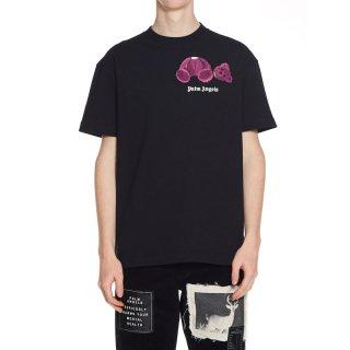 <img class='new_mark_img1' src='https://img.shop-pro.jp/img/new/icons1.gif' style='border:none;display:inline;margin:0px;padding:0px;width:auto;' />Palm Angels|パームエンジェルス メンズ通販|大阪正規取扱店舗|最短翌日着|MINI KILL THE BEAR 半袖Tシャツ|ブラック