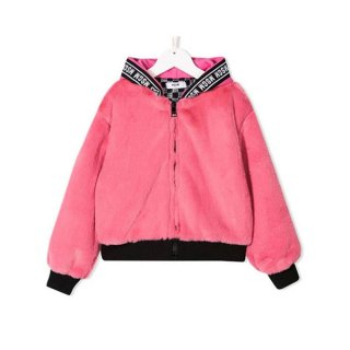 <img class='new_mark_img1' src='https://img.shop-pro.jp/img/new/icons1.gif' style='border:none;display:inline;margin:0px;padding:0px;width:auto;' />MSGM KIDS|エムエスジーエムキッズ 通販|大阪正規取扱店舗|エコファー ブルゾン|ピンク