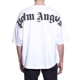 <img class='new_mark_img1' src='https://img.shop-pro.jp/img/new/icons1.gif' style='border:none;display:inline;margin:0px;padding:0px;width:auto;' />Palm Angels|パームエンジェルス メンズ通販|大阪正規取扱店舗|最短翌日着|CLASSIC LOGO OVER 半袖Tシャツ|ホワイト