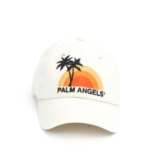 <img class='new_mark_img1' src='https://img.shop-pro.jp/img/new/icons1.gif' style='border:none;display:inline;margin:0px;padding:0px;width:auto;' />Palm Angels|パームエンジェルス メンズ通販|大阪正規取扱店舗|最短翌日着|SUNSET CAP|オフホワイト