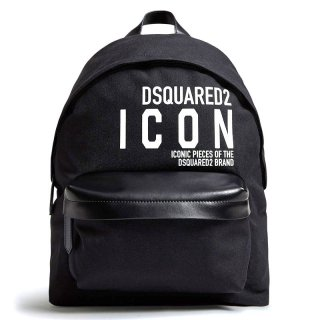 <img class='new_mark_img1' src='https://img.shop-pro.jp/img/new/icons1.gif' style='border:none;display:inline;margin:0px;padding:0px;width:auto;' />DSQUARED 2|ディースクエアード メンズ通販|ロゴ バックパック|ブラック