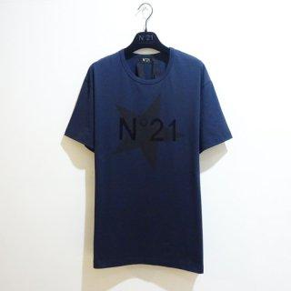 <img class='new_mark_img1' src='https://img.shop-pro.jp/img/new/icons1.gif' style='border:none;display:inline;margin:0px;padding:0px;width:auto;' />N°21 |ヌメロヴェントゥーノ| メンズ ロゴTシャツ/ネイビー