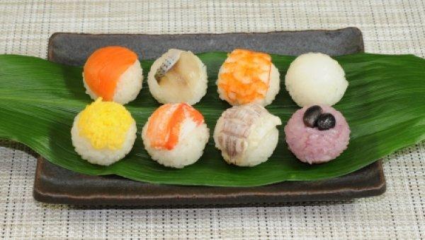 満月てまり寿司 【8種のいろどりセット】