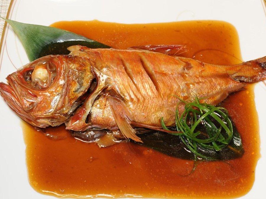 天皇海山のセレブ金目鯛姿煮<p>2~3人前