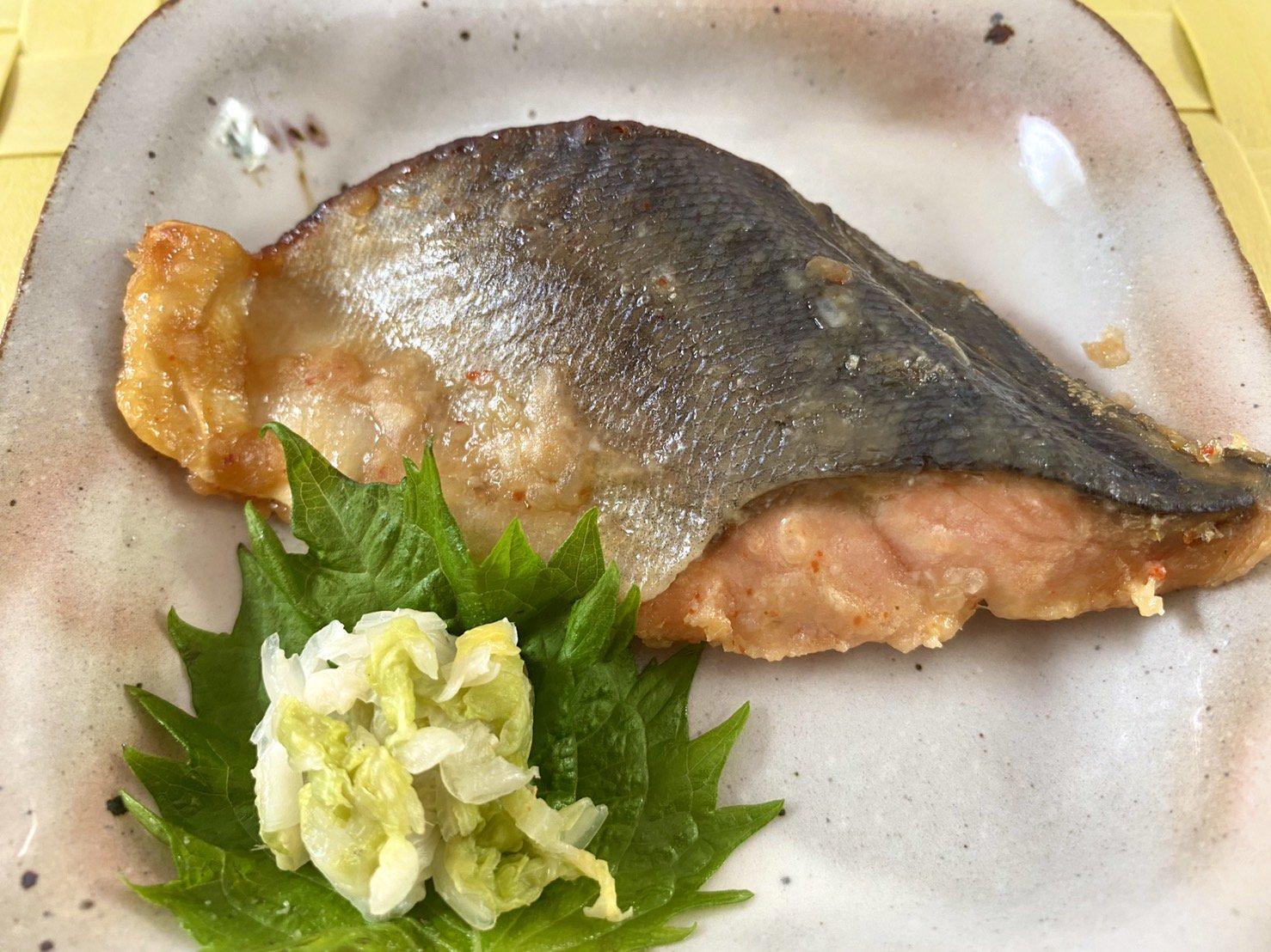 【グリルを汚さず、骨とり焼き魚!】ます 甘味噌焼き
