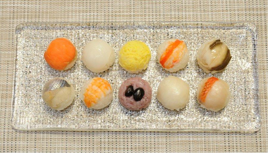 満月手まり寿司 【10種類の満足セット】