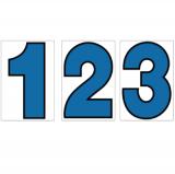 スチール製 プライスボード用数字 AS−34 10枚セット