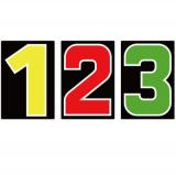 スチール製 プライスボード用数字 AS−35 10枚セット