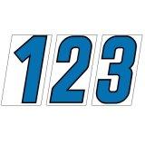 スチール製 プライスボード用数字 AS−52 10枚セット