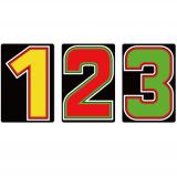 サンドイッチ合板 (SK) 製 プライスボード用 数字 SK−24 10枚セット