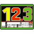 10枚セット SK製 (サンドイッチ合板) プライスボード スライド金具付き SK−20