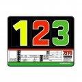 10枚セット SK製 (サンドイッチ合板) プライスボード スライド金具付き SK−35