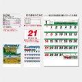 2022年 令和4年 名入れ カレンダー セフティドライブ (小) 100冊セットsg-268
