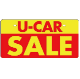 エコ製 ナンバーカード U−CAR SALE NC−F