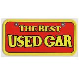 サンドイッチ合板製 ナンバーカード USED CAR