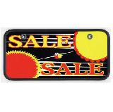 サンドイッチ合板製 ナンバーカード SALE