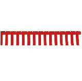 紅白幕 90cm×2間(3.6m)