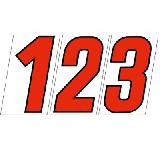 サンドイッチ合板 (SK) 製 プライスボード用数字 SK−73<br> ※こちらの商品は受注生産品です。1週間以内に出荷いたします