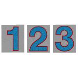 サンドイッチ合板 (SK) 製 プライスボード用数字 SK−48