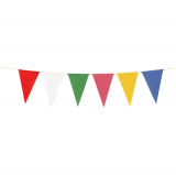 連続旗 三角旗(23枚付) 12本セット H−1