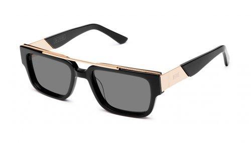 <img class='new_mark_img1' src='https://img.shop-pro.jp/img/new/icons5.gif' style='border:none;display:inline;margin:0px;padding:0px;width:auto;' />9five 24 Black & 24K Gold Sunglasses トゥウェンティフォー / ブラック&24Kゴールド / サングラス / ナインファイブ