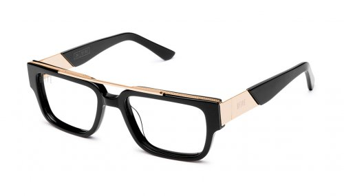 <img class='new_mark_img1' src='https://img.shop-pro.jp/img/new/icons5.gif' style='border:none;display:inline;margin:0px;padding:0px;width:auto;' />9five 24 Black & 24KGold Clear Lens Glasses トゥウェンティフォー / ブラック&24Kゴールド / クリアーレンズ / ナインファイブ