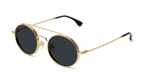 <img class='new_mark_img1' src='https://img.shop-pro.jp/img/new/icons5.gif' style='border:none;display:inline;margin:0px;padding:0px;width:auto;' />9five 50-50 24K Gold Shades フィフティーフィフティー / 24Kゴールド / サングラス / ナインファイブ