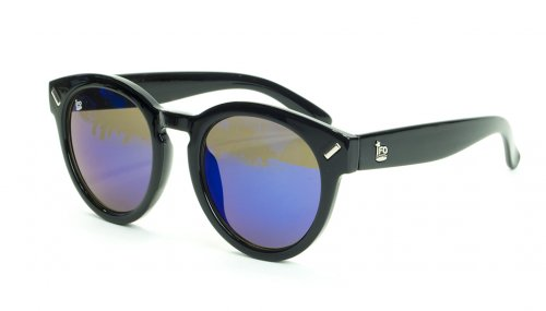 <img class='new_mark_img1' src='https://img.shop-pro.jp/img/new/icons5.gif' style='border:none;display:inline;margin:0px;padding:0px;width:auto;' />MERCURY - sunglasses- black(frame) / blue mirror(lens) サングラス / ラウンド/アイエフオー