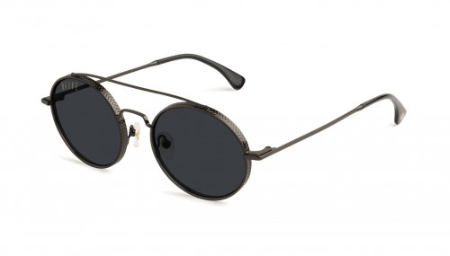 <img class='new_mark_img1' src='https://img.shop-pro.jp/img/new/icons5.gif' style='border:none;display:inline;margin:0px;padding:0px;width:auto;' />9five 50-50 Gunmetal Sunglasses フィフティーフィフティー / ガンメタル / サングラス / ナインファイブ