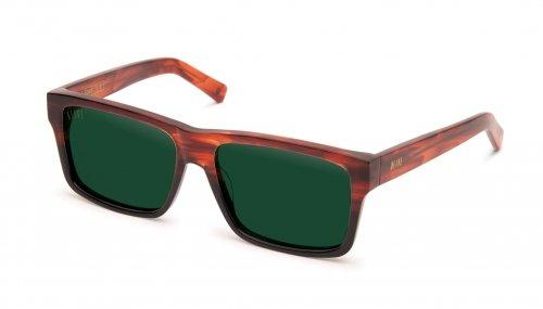 <img class='new_mark_img1' src='https://img.shop-pro.jp/img/new/icons5.gif' style='border:none;display:inline;margin:0px;padding:0px;width:auto;' />9five Caps Havana Vintage Green Sunglasses キャップス / ハバナ / サングラス / ナインファイブ