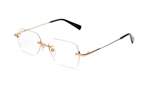 <img class='new_mark_img1' src='https://img.shop-pro.jp/img/new/icons47.gif' style='border:none;display:inline;margin:0px;padding:0px;width:auto;' />9five CLARITY 24k Gold Clear Lens Glasses クラリティー / 24Kゴールド / クリアレンズグラス / ナインファイブ